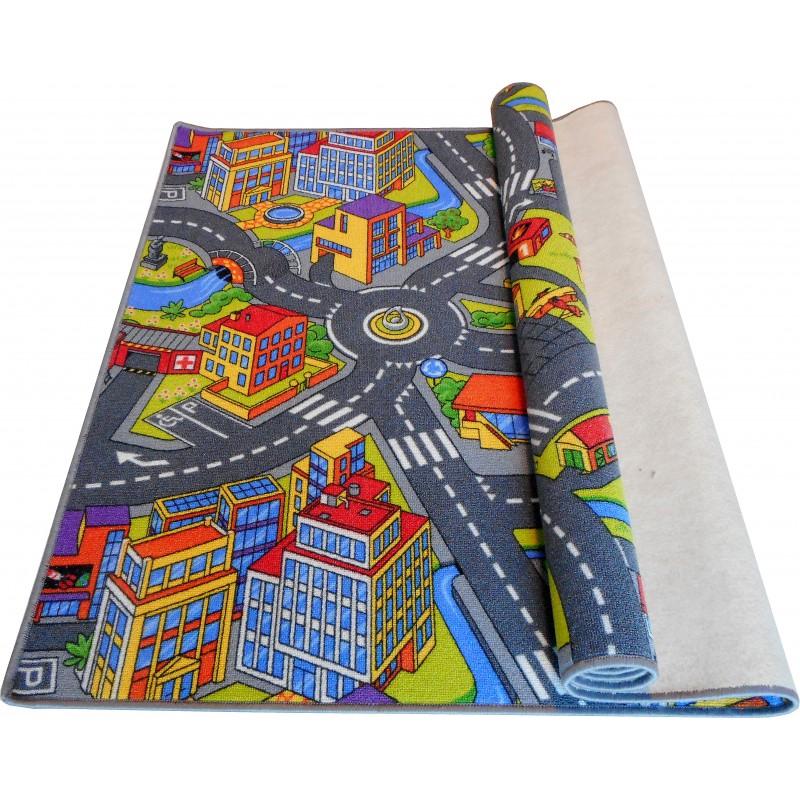 Wykładzina dywanowa ulice ronda Miasto