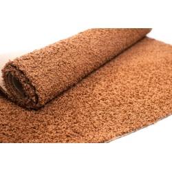 Wykładzina dywanowa orzechowa