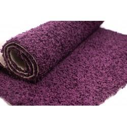 Wykładzina dywanowa shaggy kolor fiolet